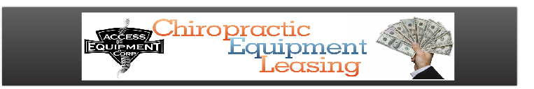 Chiropractic Equipment Leasing